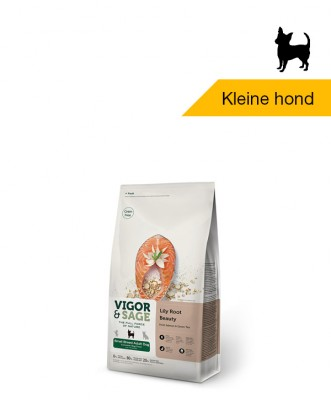 Vigor & Sage Lily Root <BR>Beauty Small Breed <BR>Adult Dog - 2kg