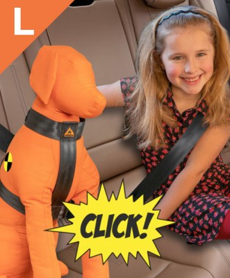 Trailstone Dog Seat belt <BR> Large: 25 tot 35 kg