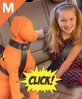 Trailstone Dog Seat belt <BR> Medium: 15 tot 25 kg